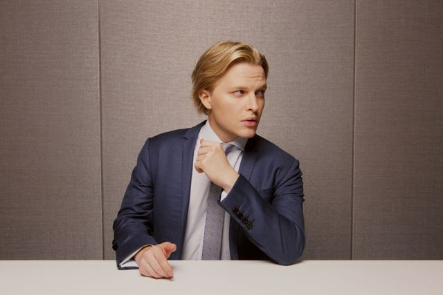 new york, ny  october 4  catch and kill author ronan farrow in new york city on october 4, 2019 credit mary inhea kang for the washington post via getty images