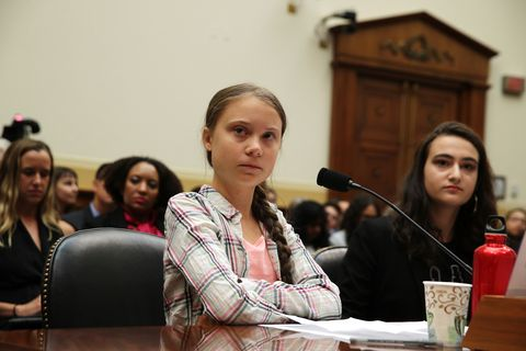 Climate Activist Greta Thunberg Visits Capitol Hill To Speak To Lawmakers