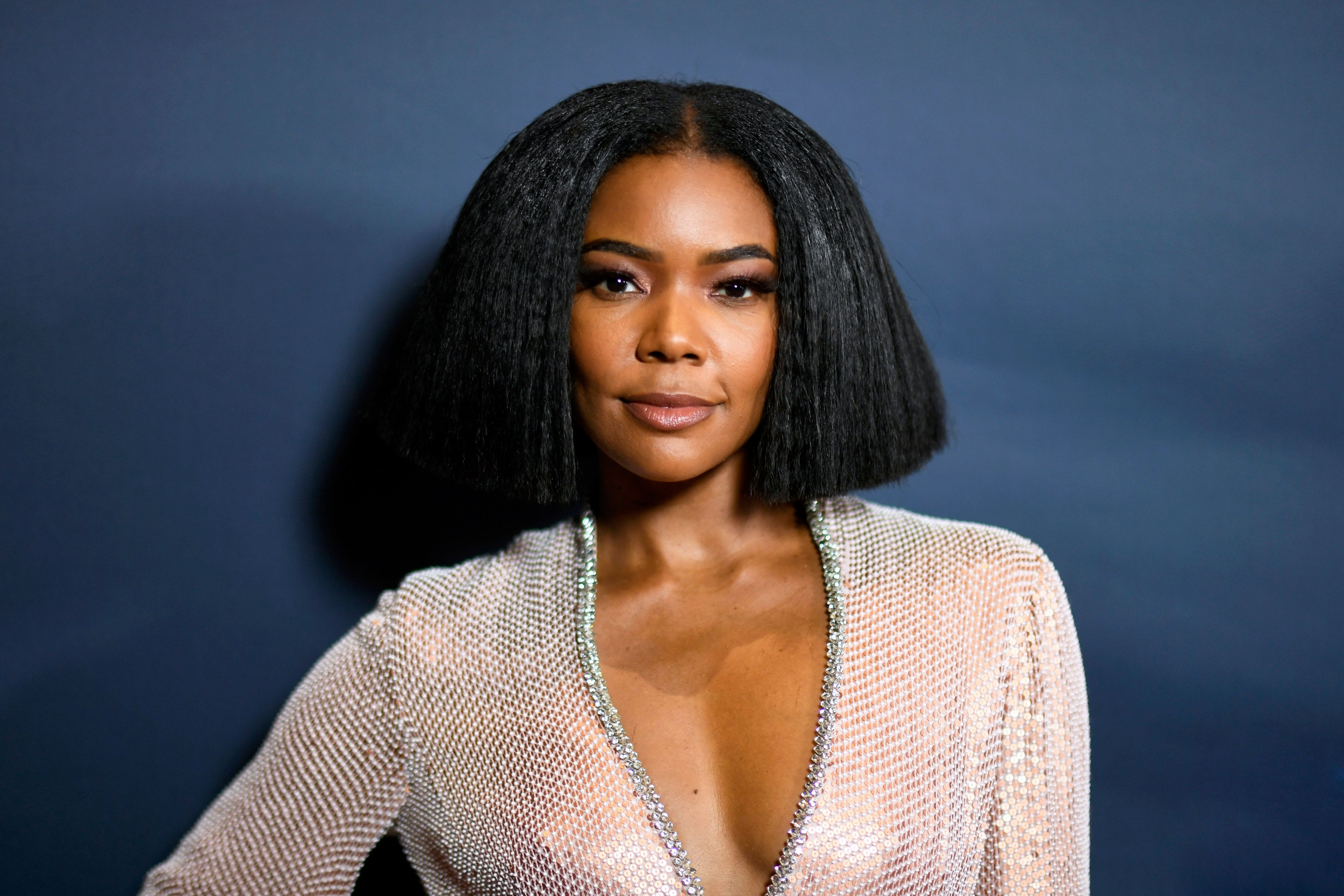 Gabrielle Union's New Natural Haircut and Glowing Skin Is All the Inspo You'll Need