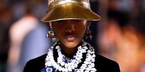 Fashion, Clothing, Street fashion, Cobalt blue, Fashion accessory, Hat, Fedora, Headgear, Electric blue, Fashion design,