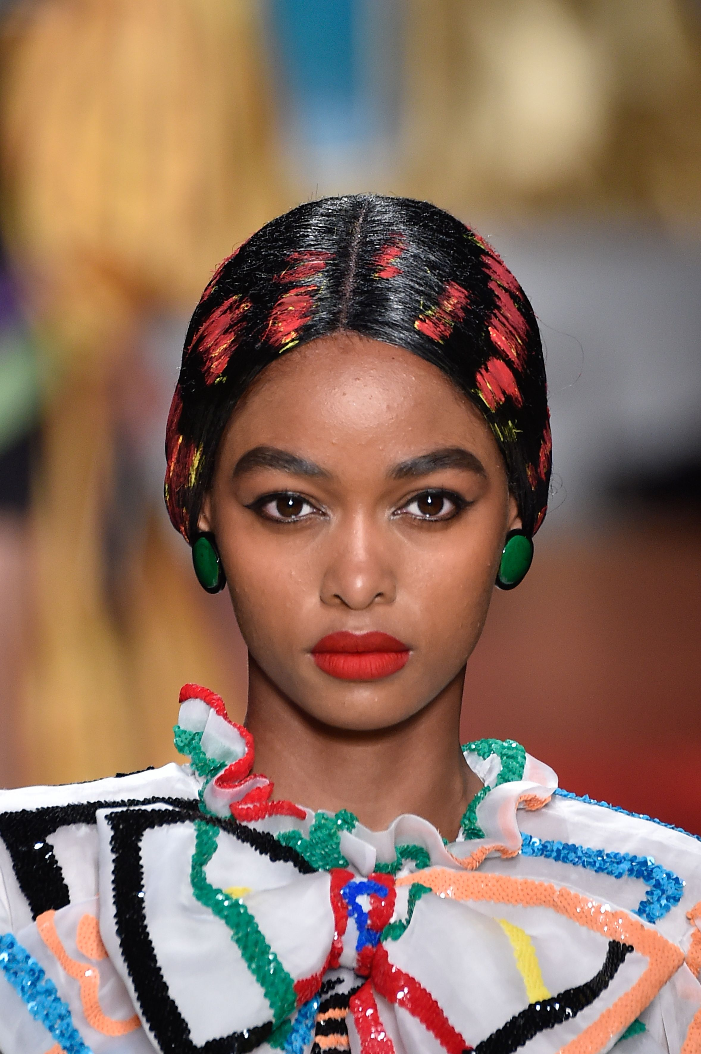 The Best Beauty Looks from Milan Fashion Week