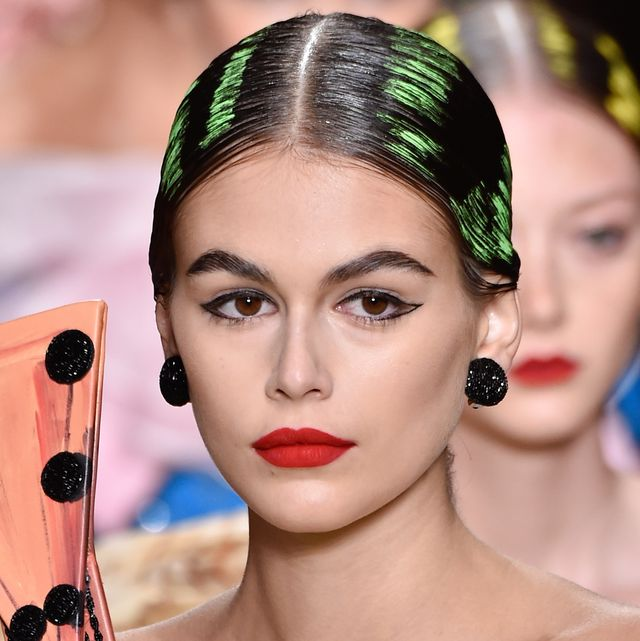Spring 2020 Hair Trends.Prada Gucci Missoni Runway Hair And Makeup Trends Milan