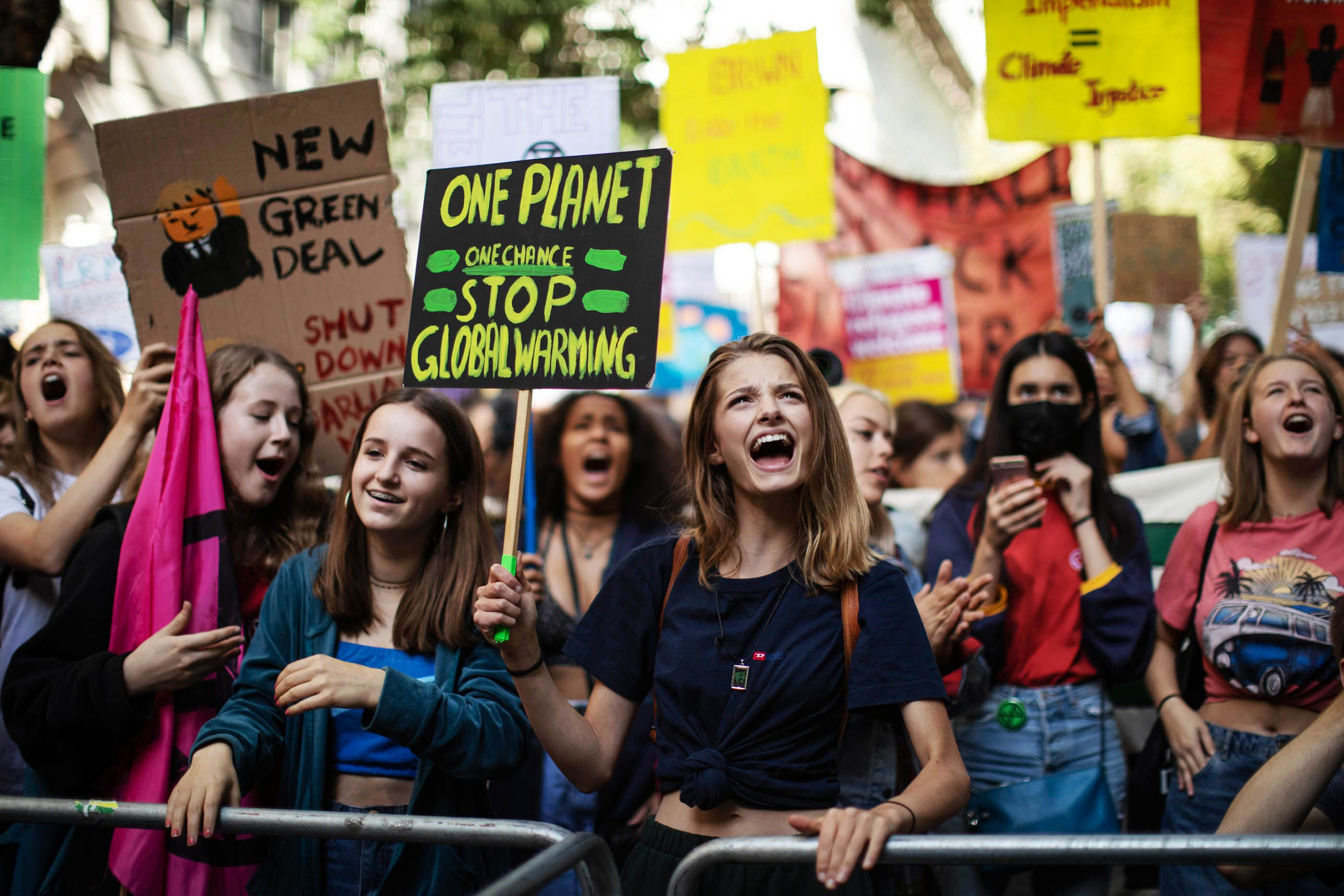 40 Photos from Friday's Historic Global Climate Strike