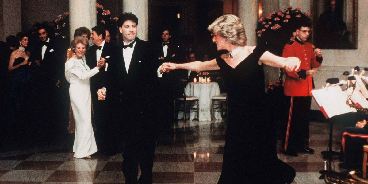 "John Travolta Said Dancing With Diana Was Like a ""Fairytale"""