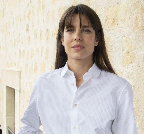 Charlotte Casiraghi And Robert Maggiori Present 'Pasion Por La Filosofia' During Hay Festival