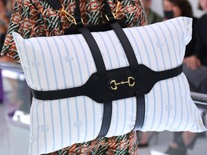 Pillow Backpacks at Gucci Milan Fashion Week Spring/Summer 2020