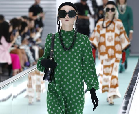 Gucci ss20, gucci catwalk, milaan fashion week, alessandro michele