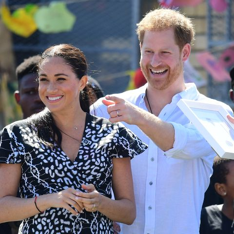 The Duke and Duchess Of Sussex Visit South Africa