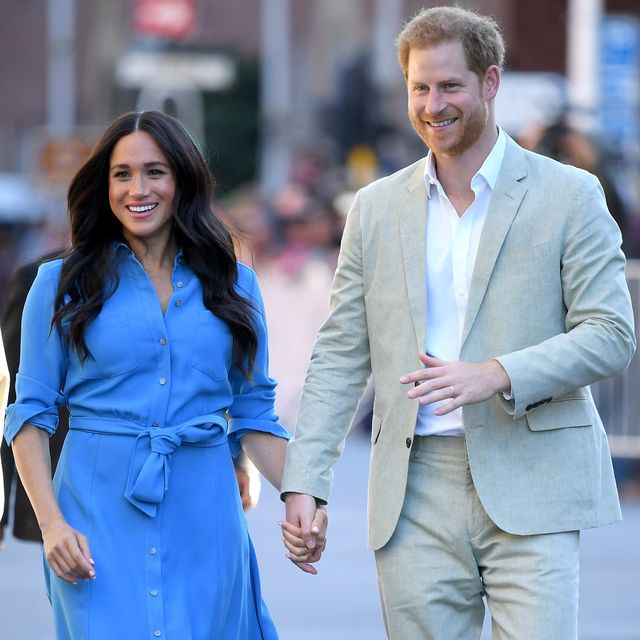 cape town, south africa   september 23 meghan, duchess of sussex and prince harry, duke of sussex visit the district six homecoming centre during their royal tour of south africa on september 23, 2019 in cape town, south africa photo by karwai tangwireimage