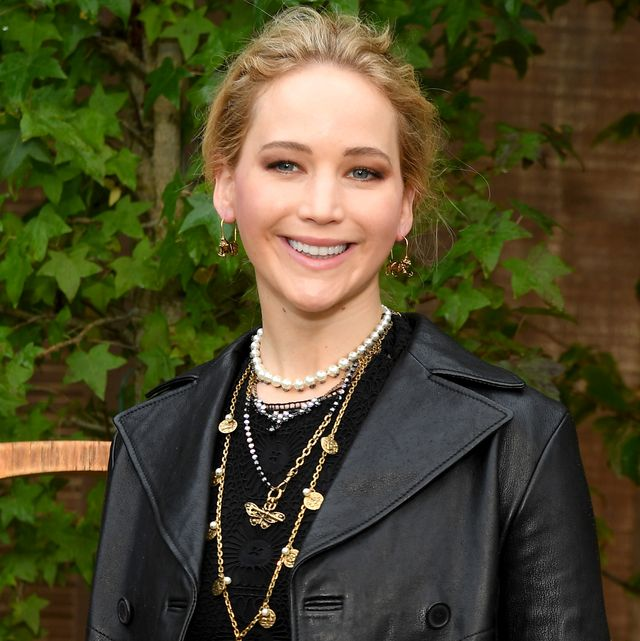 paris, france   september 24 jennifer lawrence attends the christian dior womenswear springsummer 2020 show as part of paris fashion week on september 24, 2019 in paris, france photo by pascal le segretaingetty images for dior
