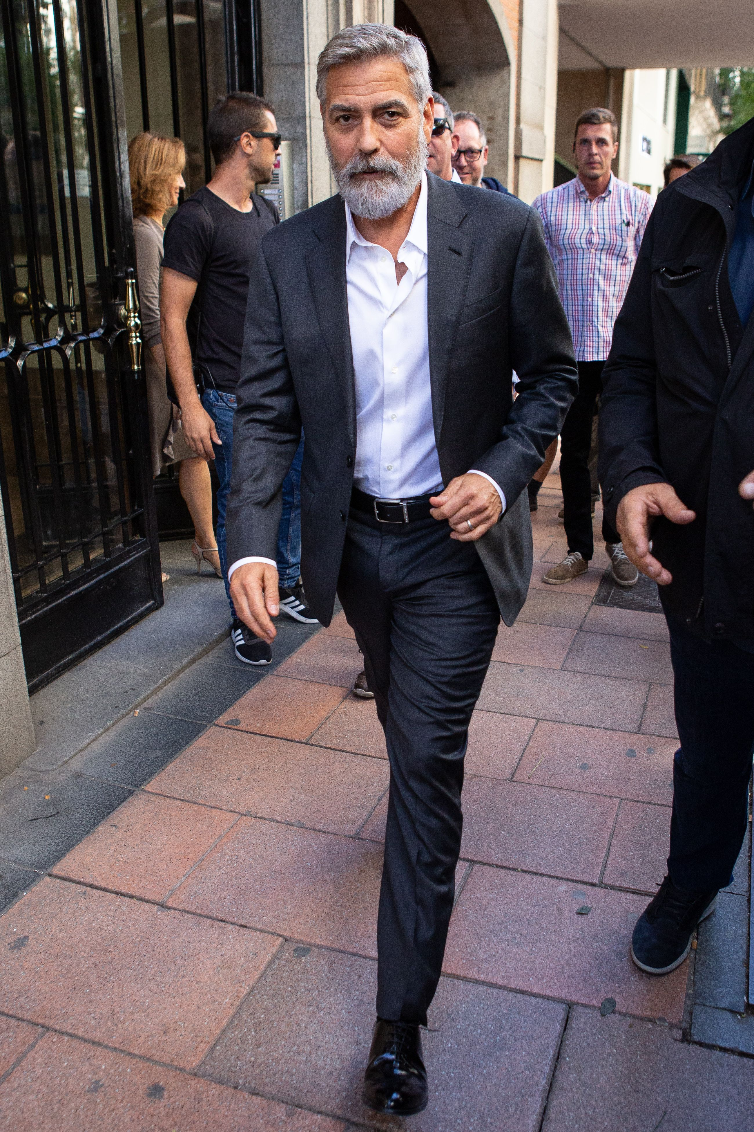George Clooney Has Grown a Mighty Beard. Here's How to Get One for Yourself.