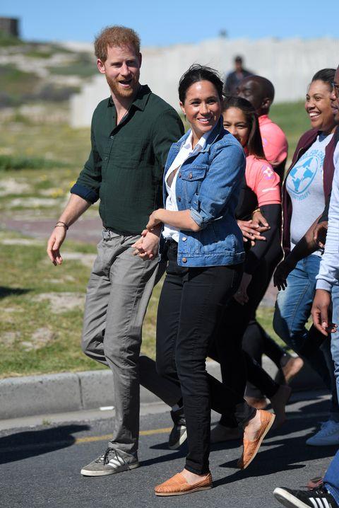 Meghan Markle Visits South Africa