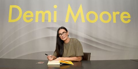"""Actress Demi Moore Signs Copies Of Her Memoir """"Inside Out"""""""