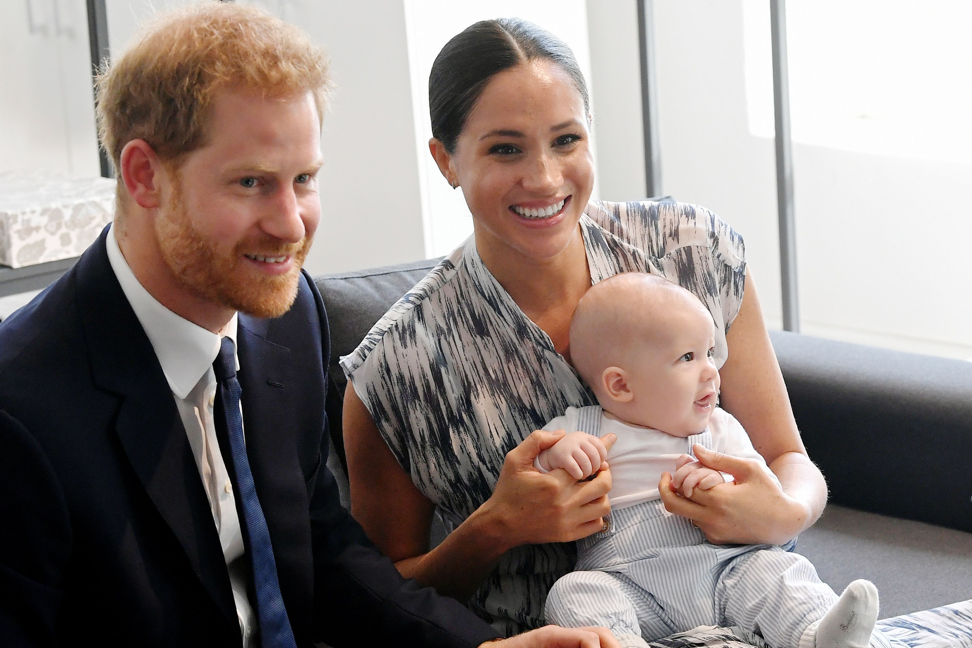 Meghan and Harry's Birthday Wish to Charles Include a Never-Before-Seen Photo of Archie