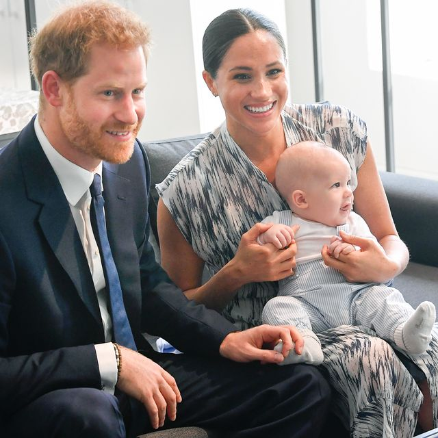 britain's prince harry and his wife meghan, duchess of sussex, holding their son archie, meet archbishop desmond tutu at the desmond  leah tutu legacy foundation in cape town, south africa, september 25, 2019 reuterstoby melvillepool