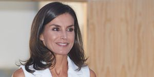 Queen Letizia of Spain Attends The Presentation Of '#FEMTASTICA' Project