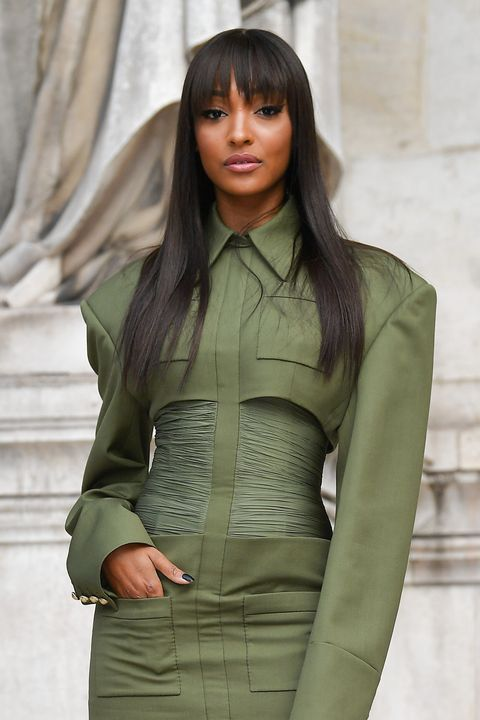 paris, france   september 27 jourdan dunn attends the balmain womenswear springsummer 2020 show as part of paris fashion week on september 27, 2019 in paris, france photo by jacopo raulegetty images