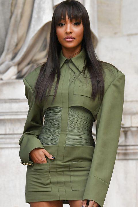 paris, france   september 27 jourdan dunn attends the balmain womenswear springsummer 2020 show as part of paris fashion week on september 27, 2019 in paris, france photo by jacopo raulegetty images