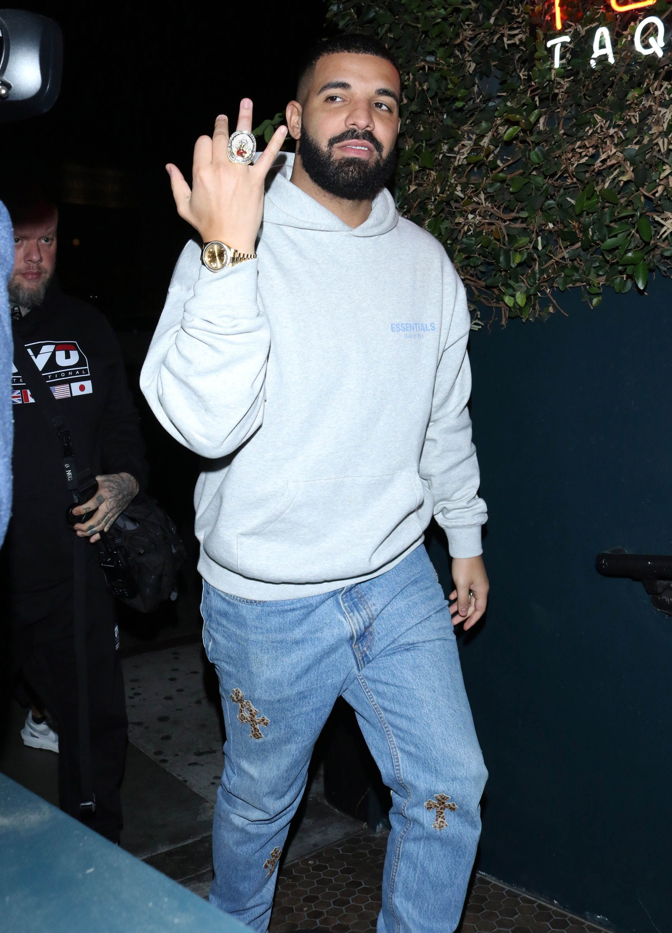 Drake's Watch Has Actual Hotline Bling