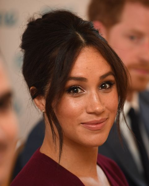 Meghan Markle Revealed The Secret To Achieving Her Poker Straight Hair