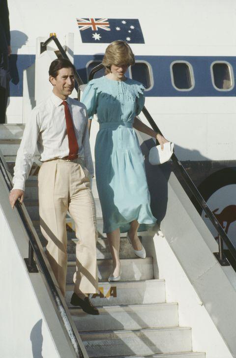 princess diana and prince charles royal tour of australia 1983