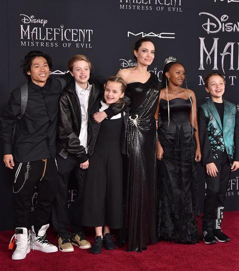 Asi Estan Los Hijos De Angelina Jolie Hoy