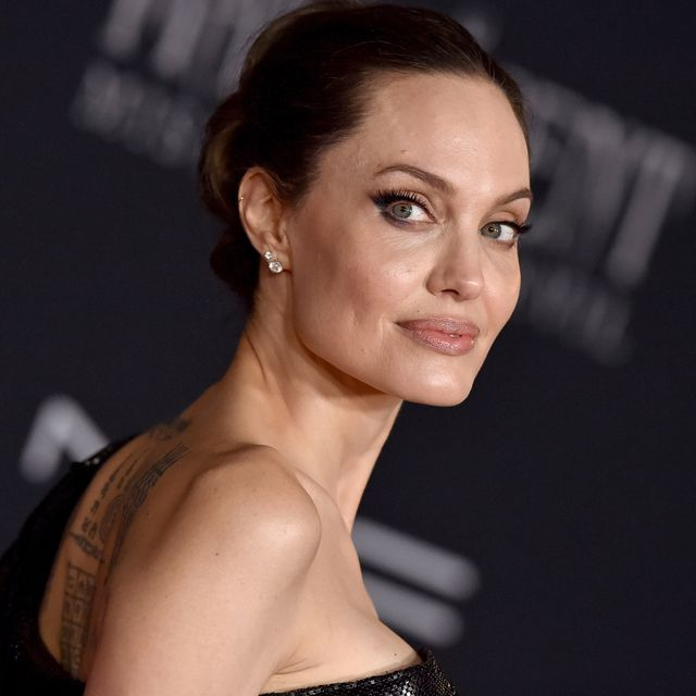 """los angeles, california   september 30 angelina jolie attends the world premiere of disneys """"maleficent mistress of evil at el capitan theatre on september 30, 2019 in los angeles, california photo by axellebauer griffinfilmmagic"""
