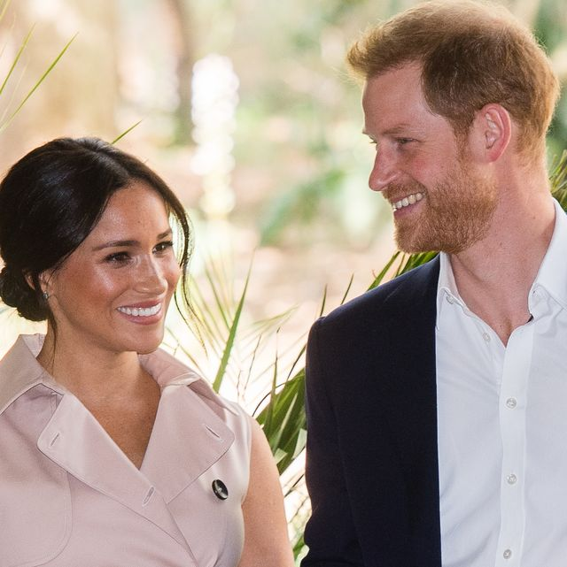 jjohannesburg, south africa   october 02 prince harry, duke of sussex and meghan, duchess of sussex visit the british high commissioners residence to attend an afternoon reception to celebrate the uk and south africa's important business and investment relationship, looking ahead to the africa investment summit the uk will host in 2020 this is part of the duke and duchess of sussexs royal tour to south africa on october 02, 2019 in johannesburg, south africa photo by samir husseinwireimage