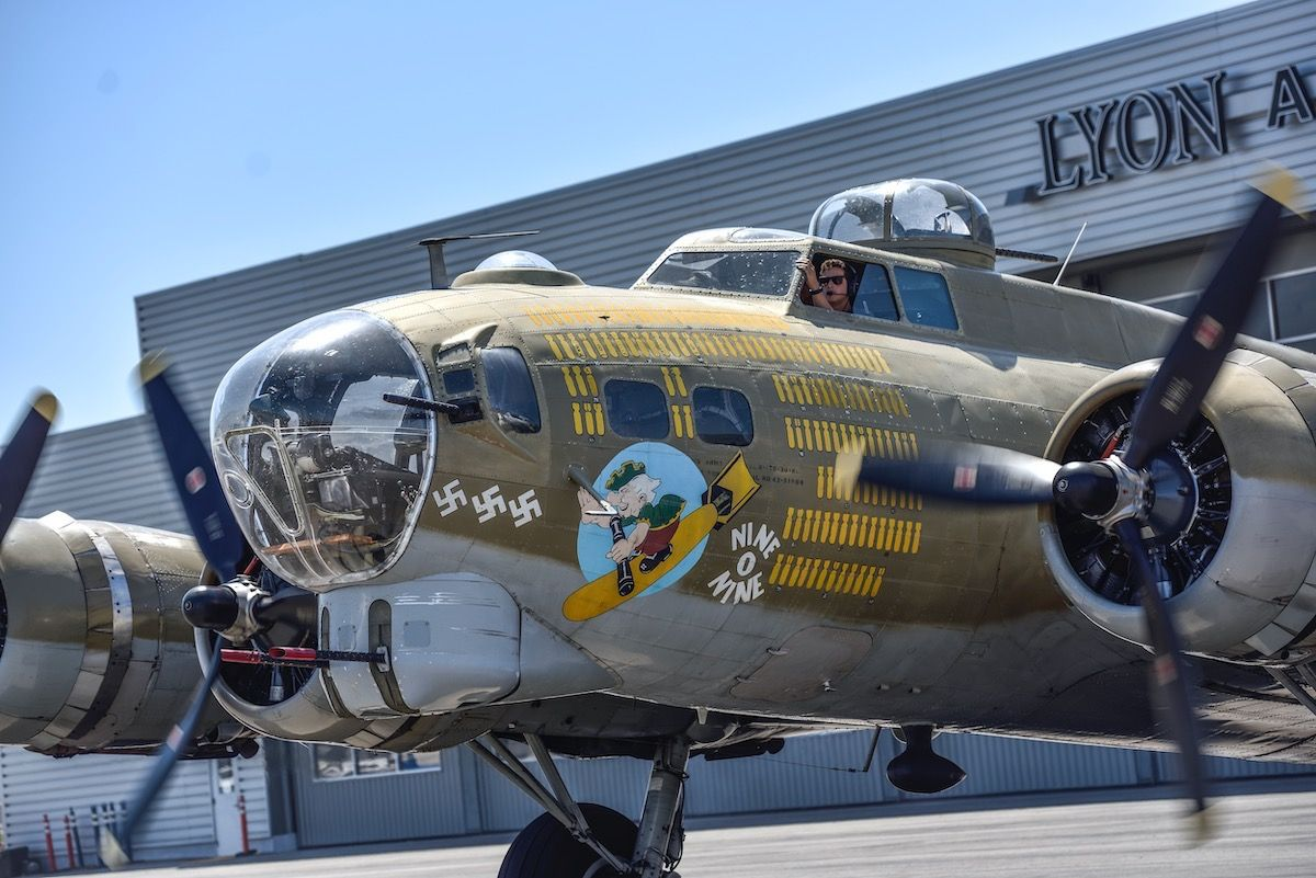 The History of Nine-O-Nine, the B-17 Bomber That Crashed This Week