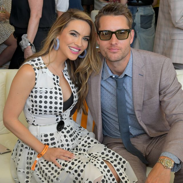 pacific palisades, california   october 05 l r chrishell stause and justin hartley attend the 10th annual veuve clicquot polo classic los angeles at will rogers state historic park on october 05, 2019 in pacific palisades, california photo by charley gallaygetty images for veuve clicquot