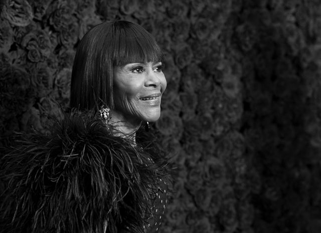 atlanta, georgia   october 05 editors note image was shot in black and white cicely tyson attends tyler perry studios grand opening gala at tyler perry studios on october 05, 2019 in atlanta, georgia photo by paras griffingetty images for tyler perry studios