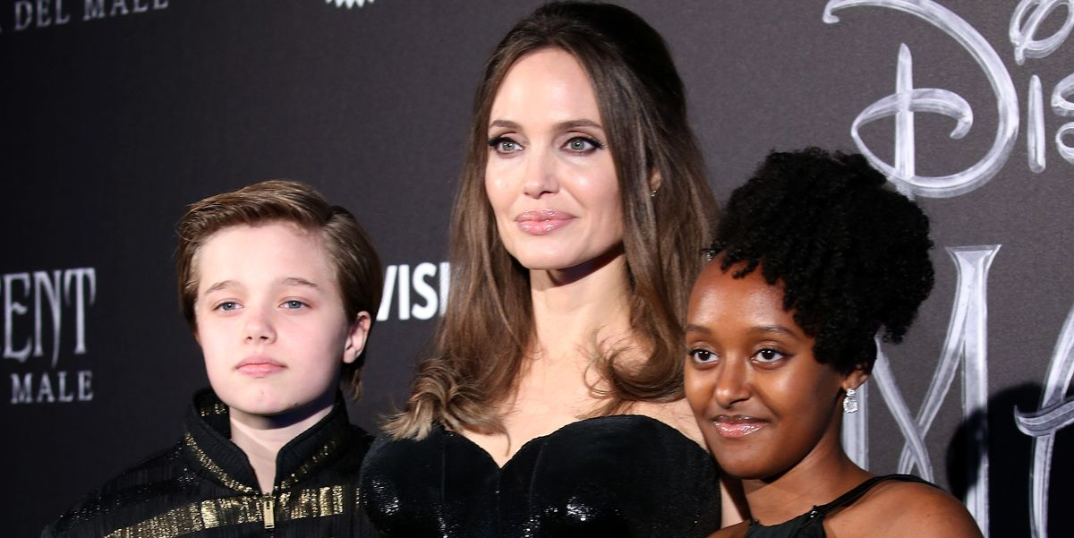Angelina Jolie Wears Strapless Versace Dress To Maleficent