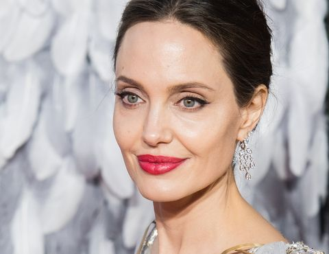london, england   october 09 angelina jolie attends the european premiere of maleficent mistress of evil at odeon imax waterloo on october 09, 2019 in london, england photo by samir husseinwireimage