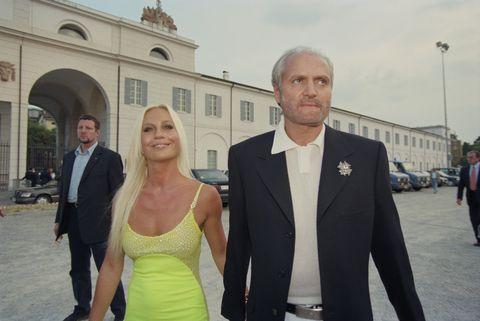 Donatella Versace Gianni Versace Fashion Donatella And Gianni
