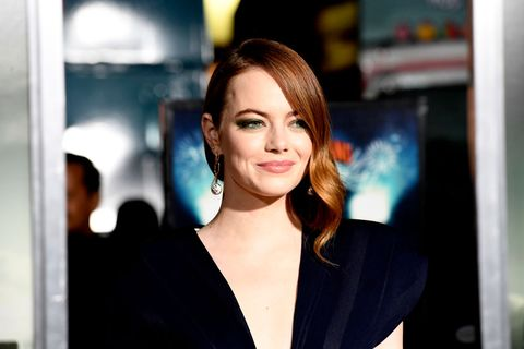 westwood, california   october 10 emma stone attends the premiere of sony pictures zombieland double tap at regency village theatre on october 10, 2019 in westwood, california photo by frazer harrisongetty images