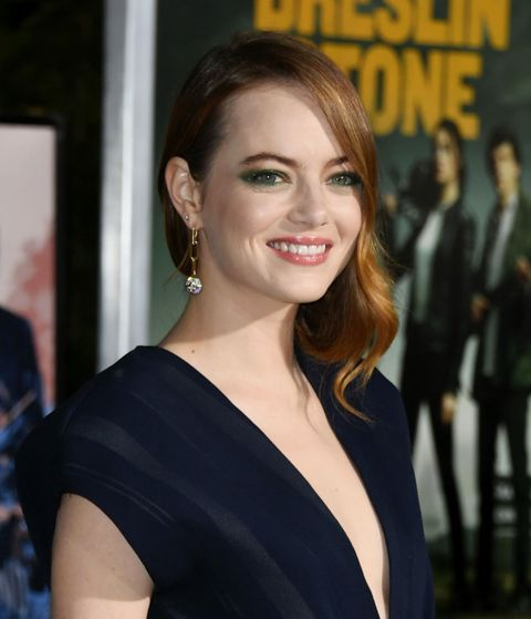 westwood, california   october 10  emma stone attends the premiere of sony pictures zombieland double tap at regency village theatre on october 10, 2019 in westwood, california photo by jon kopalofffilmmagic