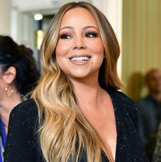 beverly hills, california   october 11 mariah carey attends varietys 2019 power of women los angeles presented by lifetime at the beverly wilshire four seasons hotel on october 11, 2019 in beverly hills, california photo by amy sussmanfilmmagic