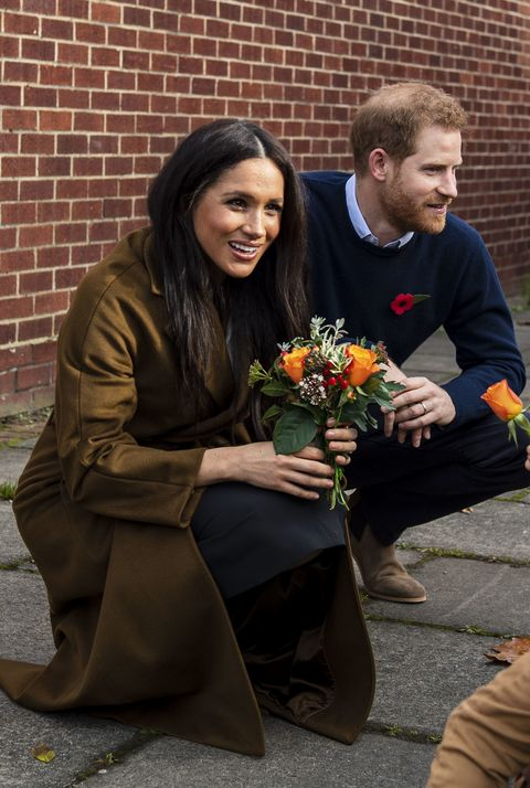 Meghan Markle Prince Harry visit military families