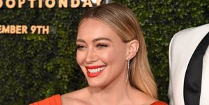Hilary Duff on her beauty routine