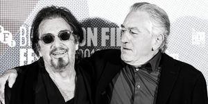 """Al Pacino y Robert de Niro protagonizan """"El irlandés"""""""