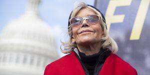 Jane Fonda Rally