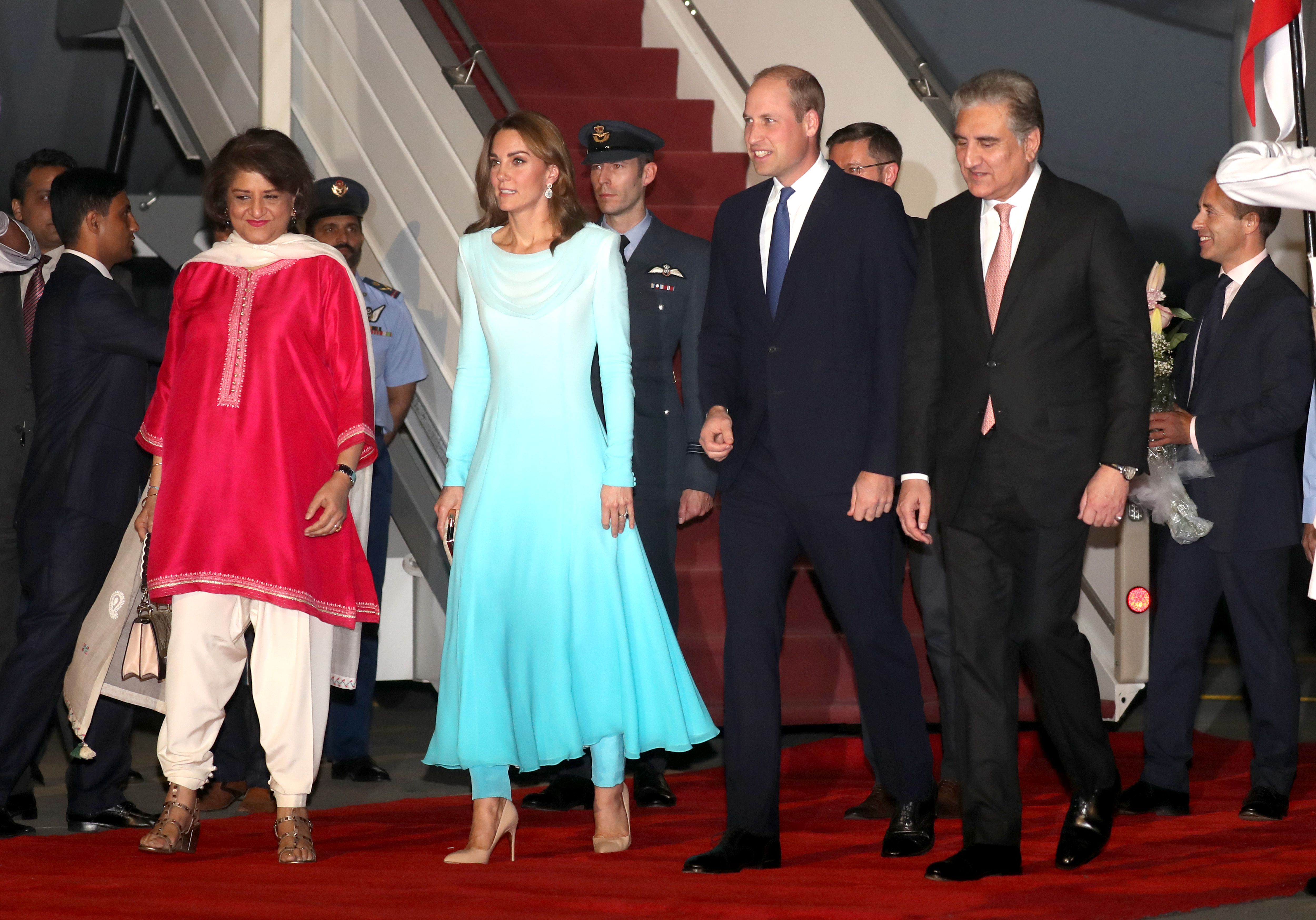 Every Photo from Kate Middleton and Prince William's Royal Tour of Pakistan