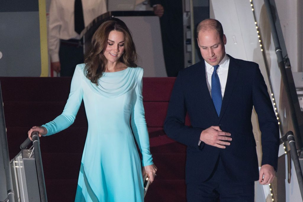 Prince William and Kate Middleton have landed in Pakistan for their royal tour