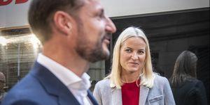 Crown Prince And Crown Princess Of Norway Visit The Frankfurt Book Fair