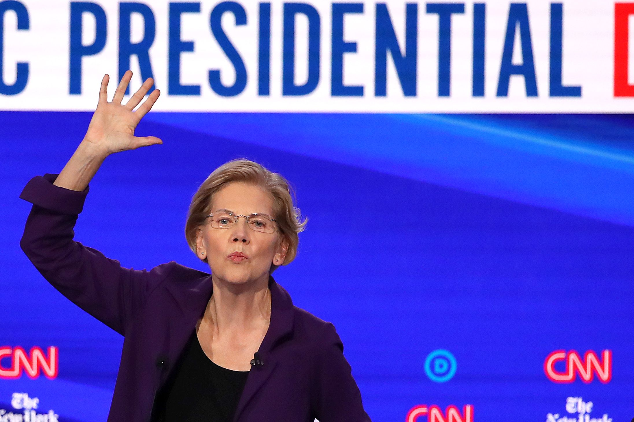 Maybe Elizabeth Warren Was Dodging a Question. Or Maybe the Question Was Just Idiotic.