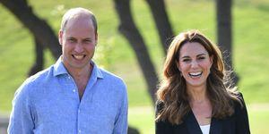 Prins William en Kate Middleton delen zeldzame foto's