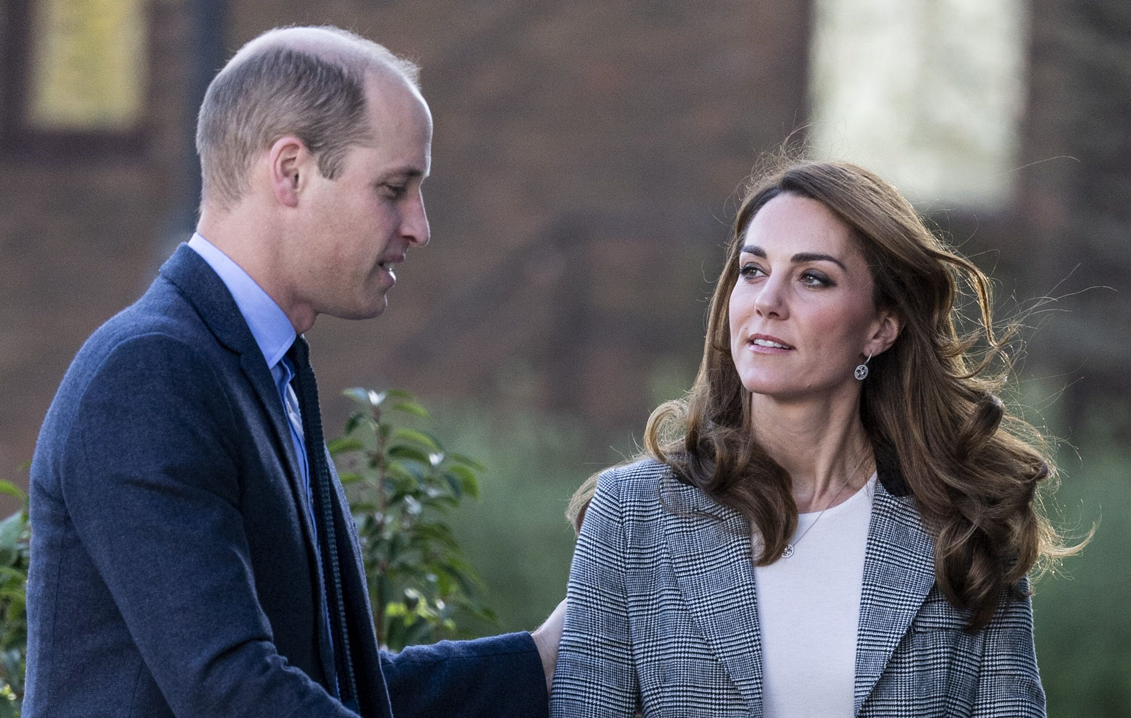 Kate Middleton and Prince William Had a Rare PDA Moment During Their Event at Troubadour White City Theatre