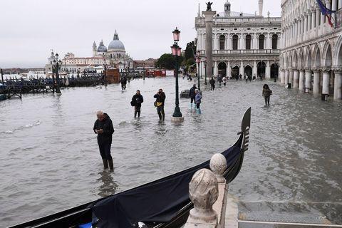 Las imágenes más impactantes de las inundaciones en Venecia