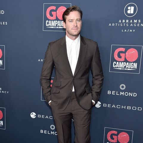 los angeles, ca   november 16  armie hammer arrives at the go campaigns 13th annual go gala at neuehouse hollywood on november 16, 2019 in los angeles, california  photo by gregg deguirefilmmagic