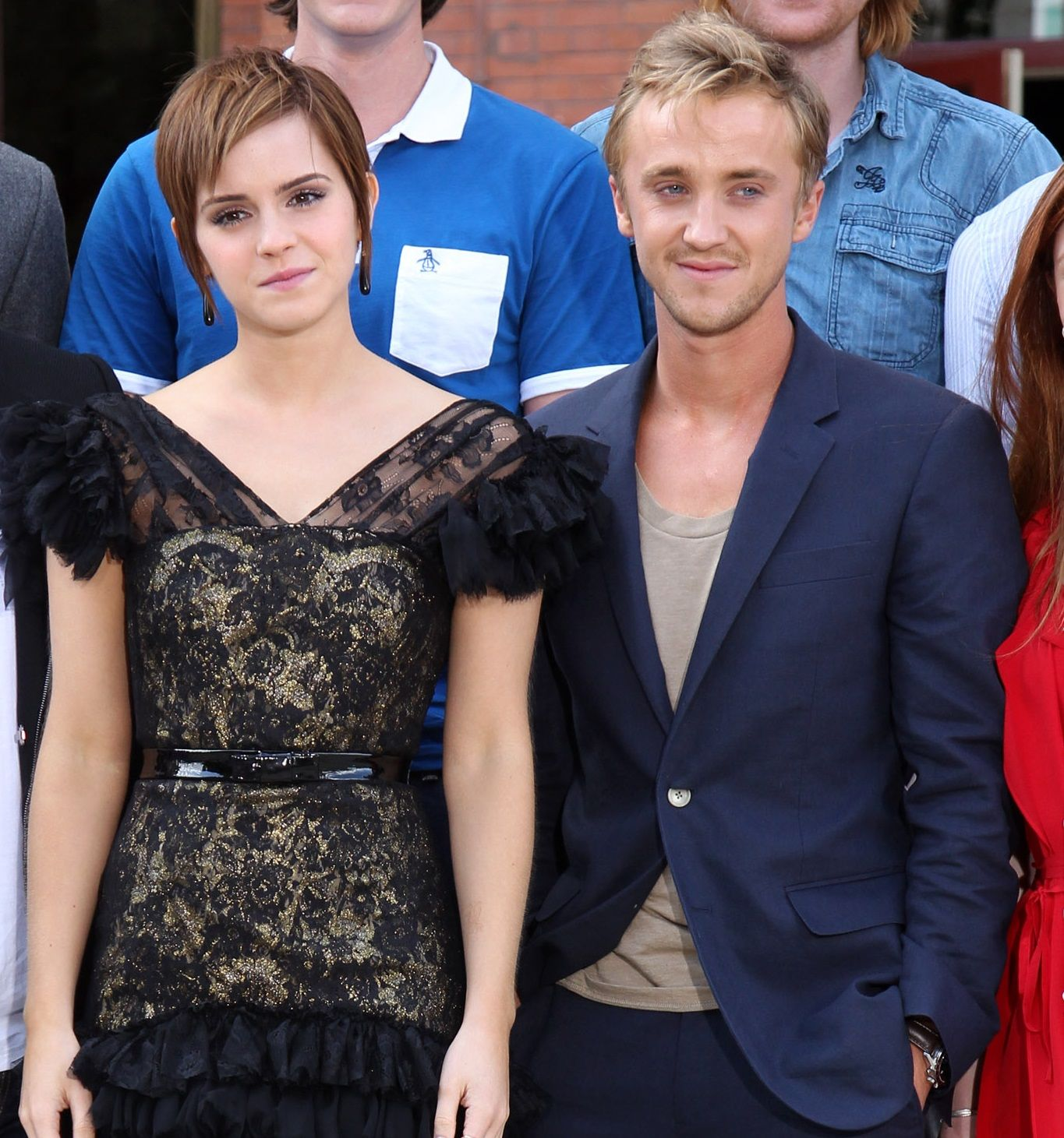 Emma Watson and Tom Felton Had a 'Harry Potter' Reunion That Will Make Your Potterhead Heart Sing